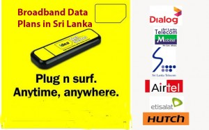 Boradband data internet service providers in Sri Lanka