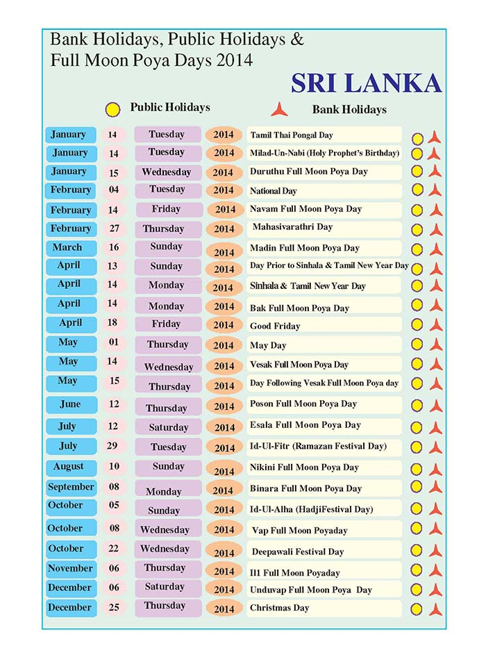 Download Sri Lanka Public Holidays & Full Moon Poya Days ...