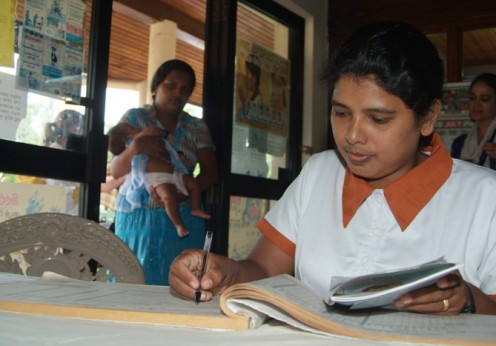 Midwife training Sri Lanka